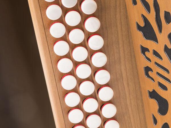 Diatoniques à claviers à gradins